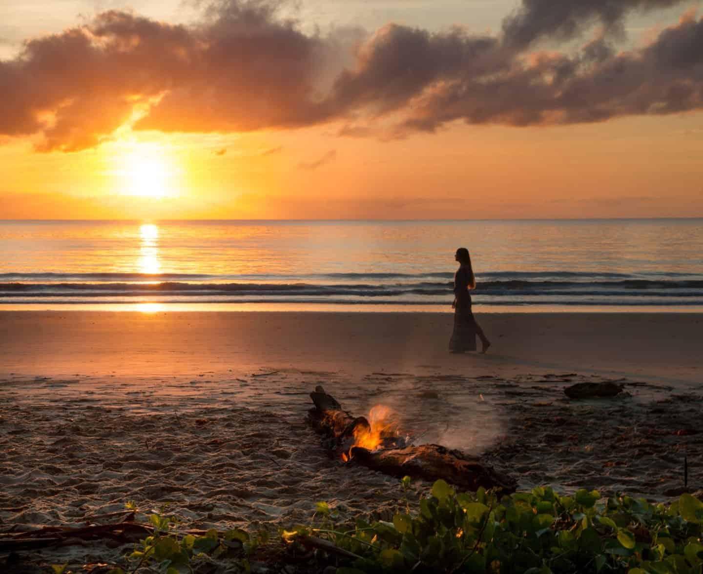 Sunrise on 4 mile beach, Port Douglas