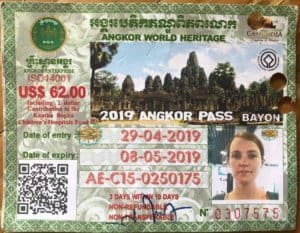 Angkor Wat 3 Day Pass