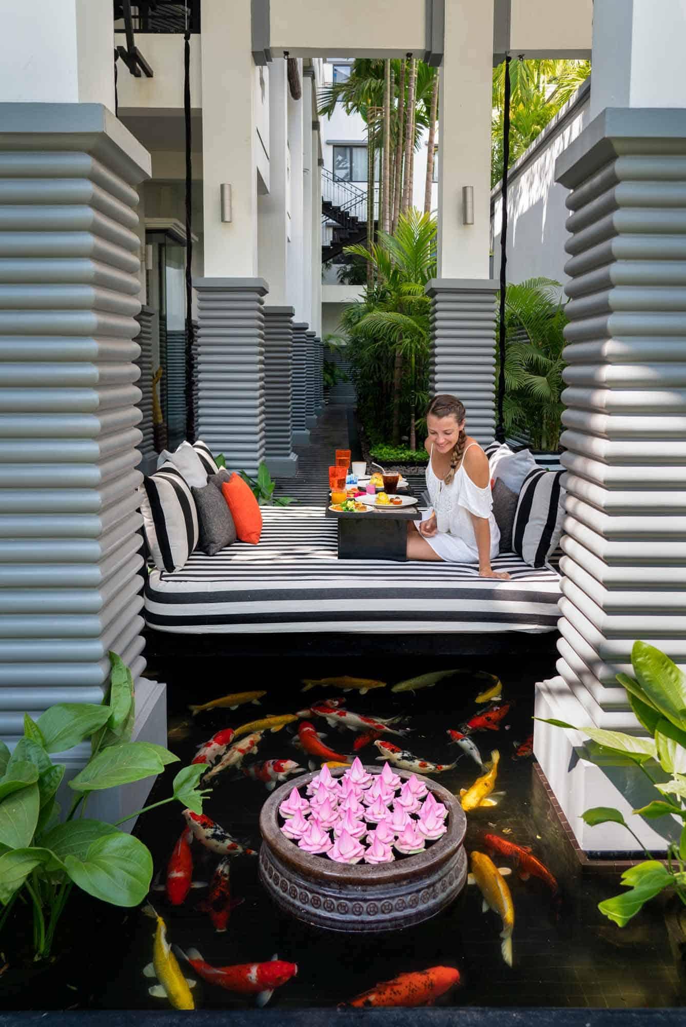 Breakfast at Shinta Mani Hotel