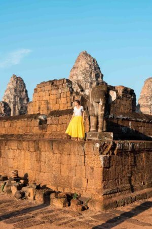 East Mebon Temple at Sunrise