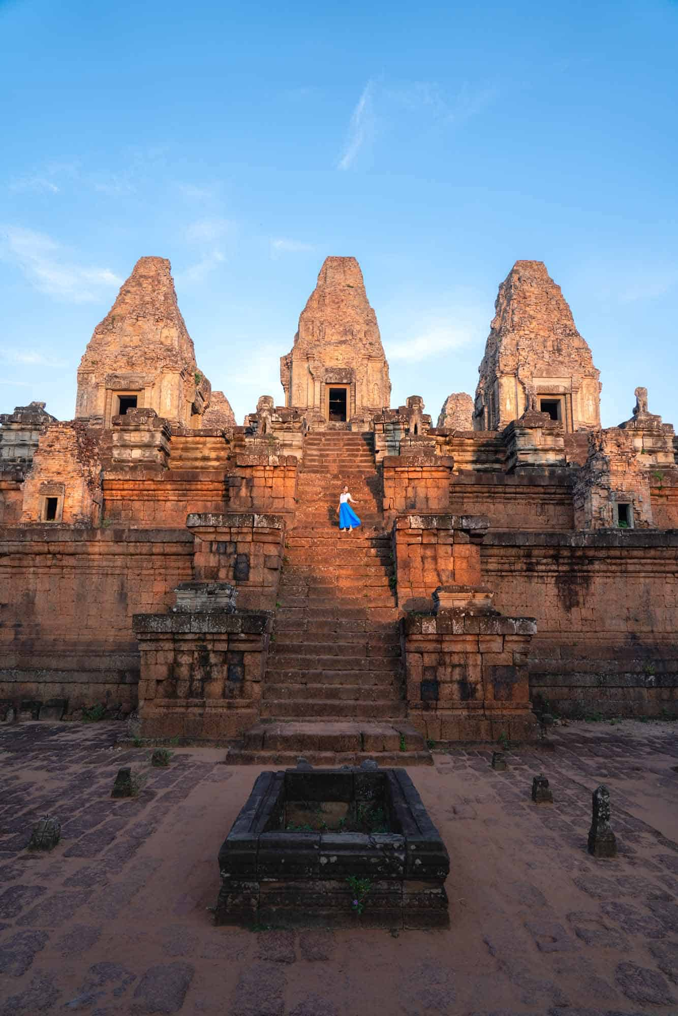 6:05am - Pre Rup Temple just after sunrise.