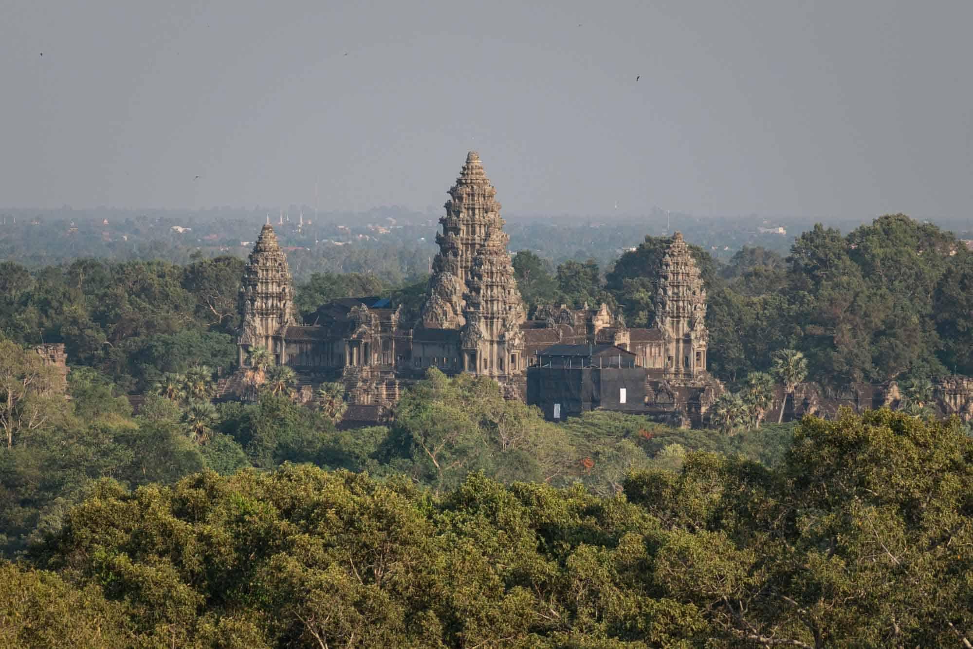 View of Angkor Wat from Phnom Bakeng