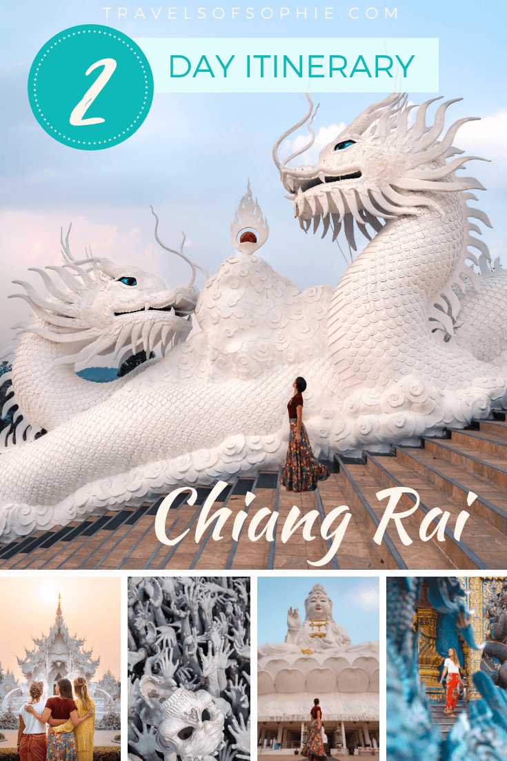 A two day Chiang Rai itinerary. A complete guide on things to do in Chiang Rai #chiangrai #thailand #southeastasia