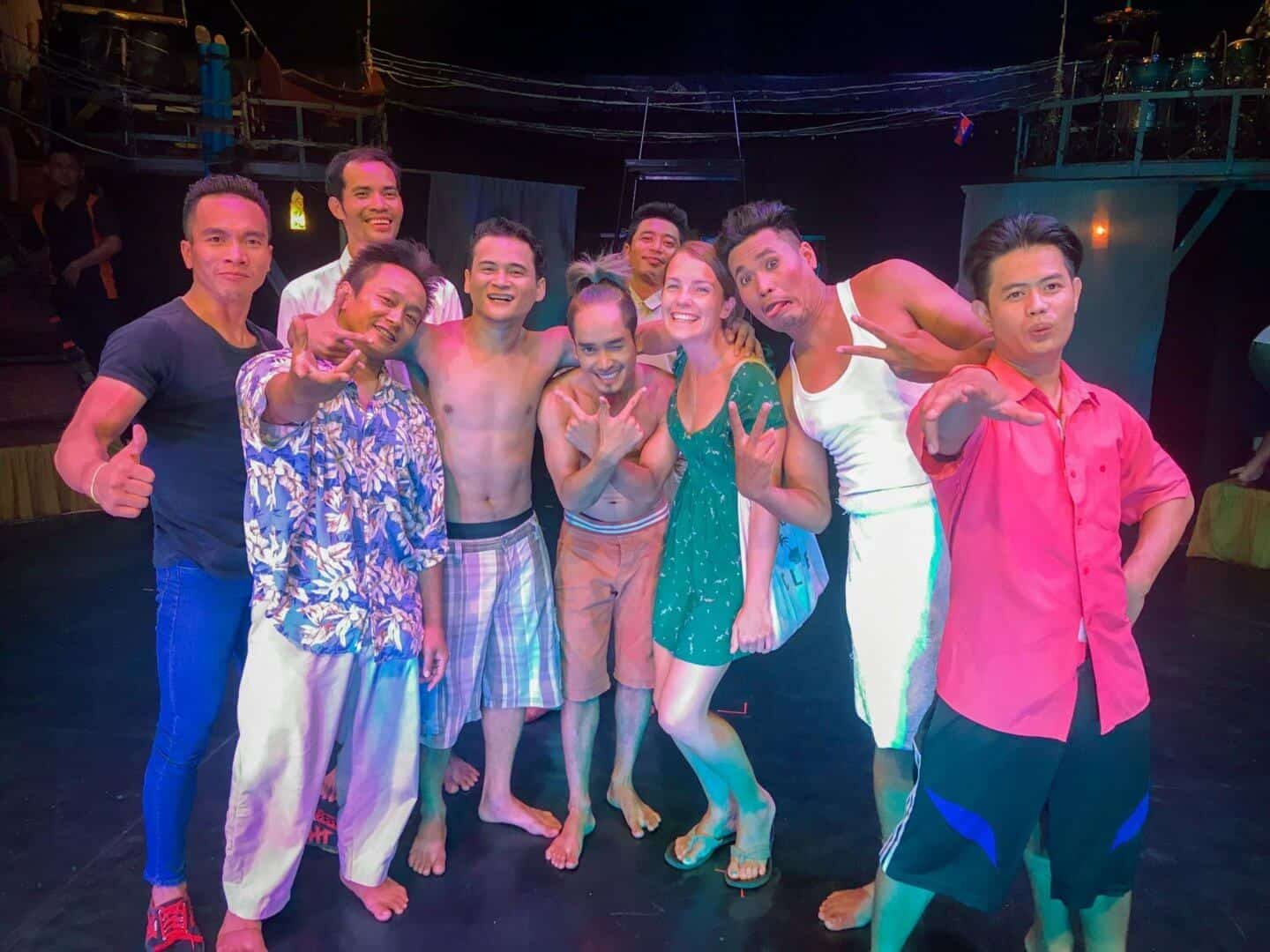 Phare Circus Performers, Siem Reap, Cambodia