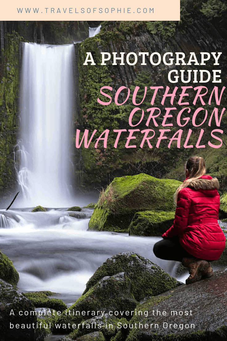 If you're planning to visit Oregon, then you shouldn't overlook the waterfalls in Southern Oregon. This Southern Oregon waterfalls travel guide will help you plan your Oregon adventures, taking you to the most beautiful waterfalls in the area. Including Toketee Falls, Proxy Falls and many others, as well detours to Crater Lake and what to do in Medford and Jacksonville.
