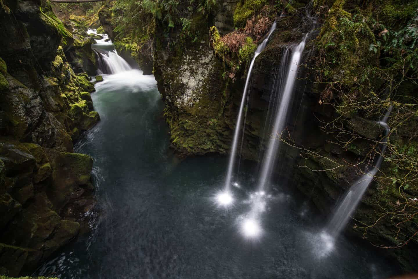 My favorite other waterfall near Toketee Falls; a hidden gem along the trail to Toketee Viewpoint.