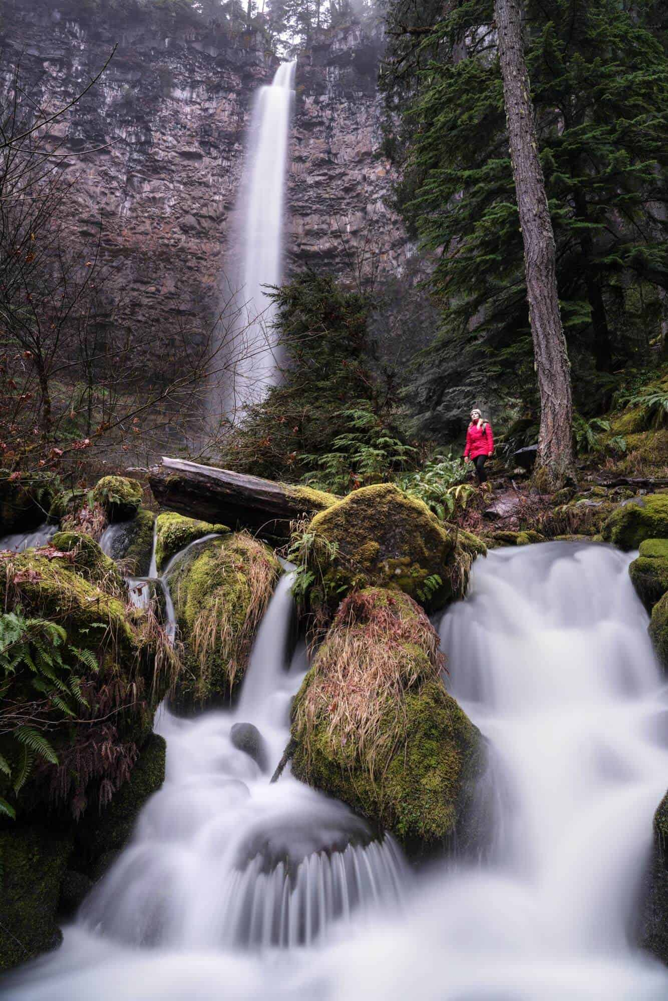 One of the best waterfalls in Oregon, Watson Falls is the second tallest in the state.