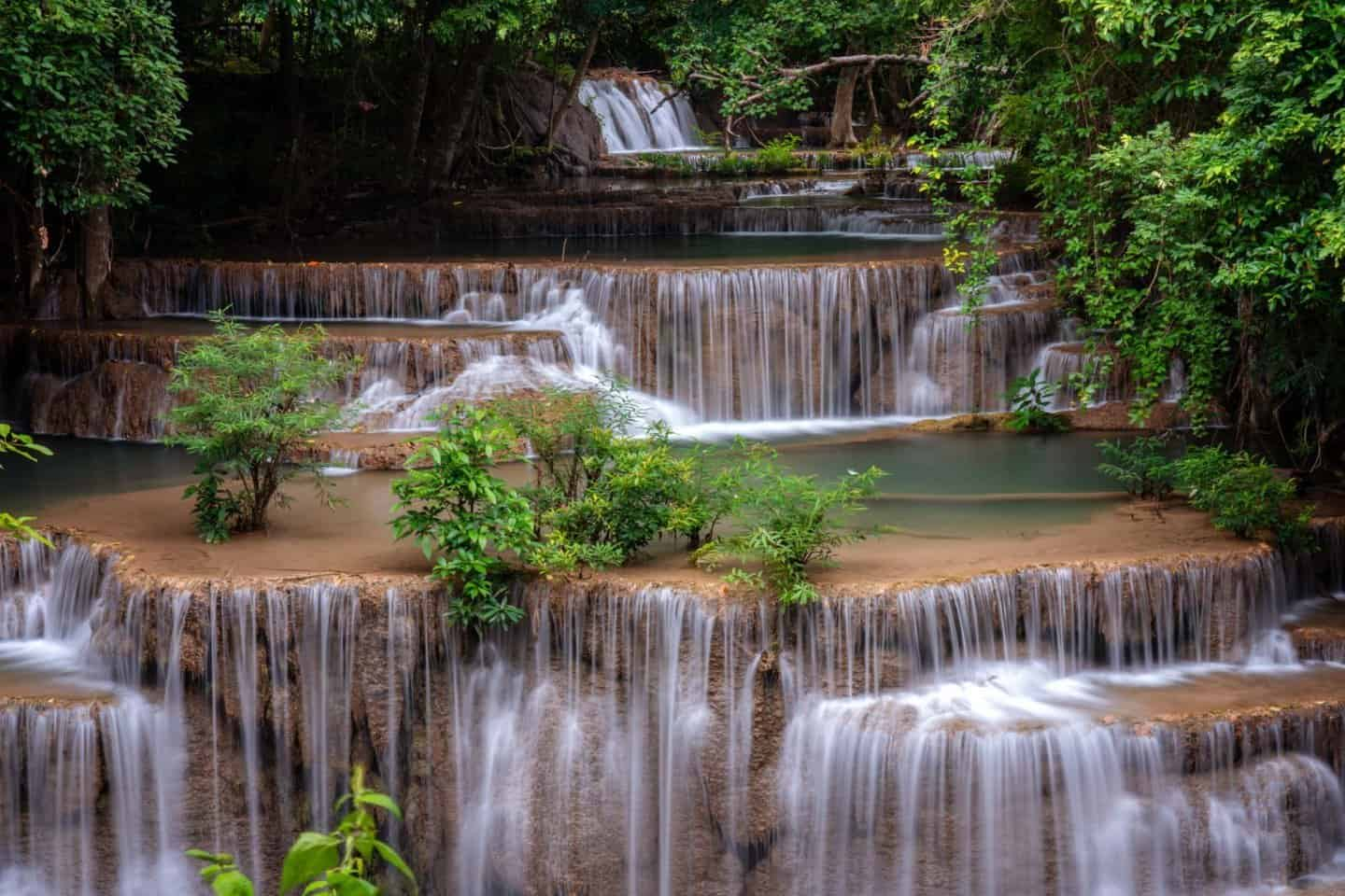 Level 4 (Chat Kaew) of Huay Mae Khamin Waterfall, Thailand