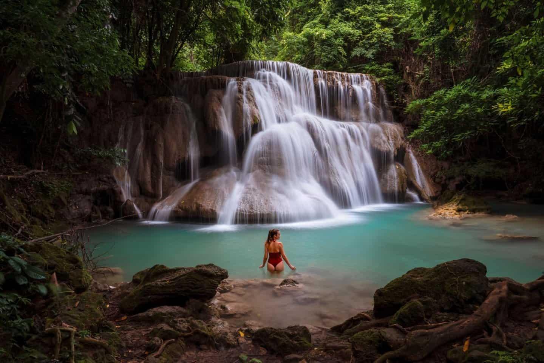 Wang Na Pha (Tier 3) of Huai Mae Khamin Waterfall