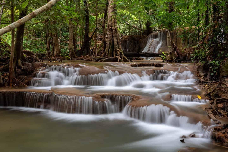 Tier 7 (Rom Klaow) of Huay Mae Khamin Waterfall