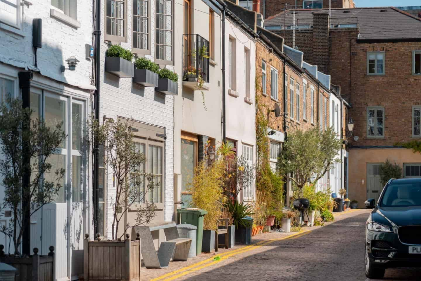 Colville Mews Notting Hill