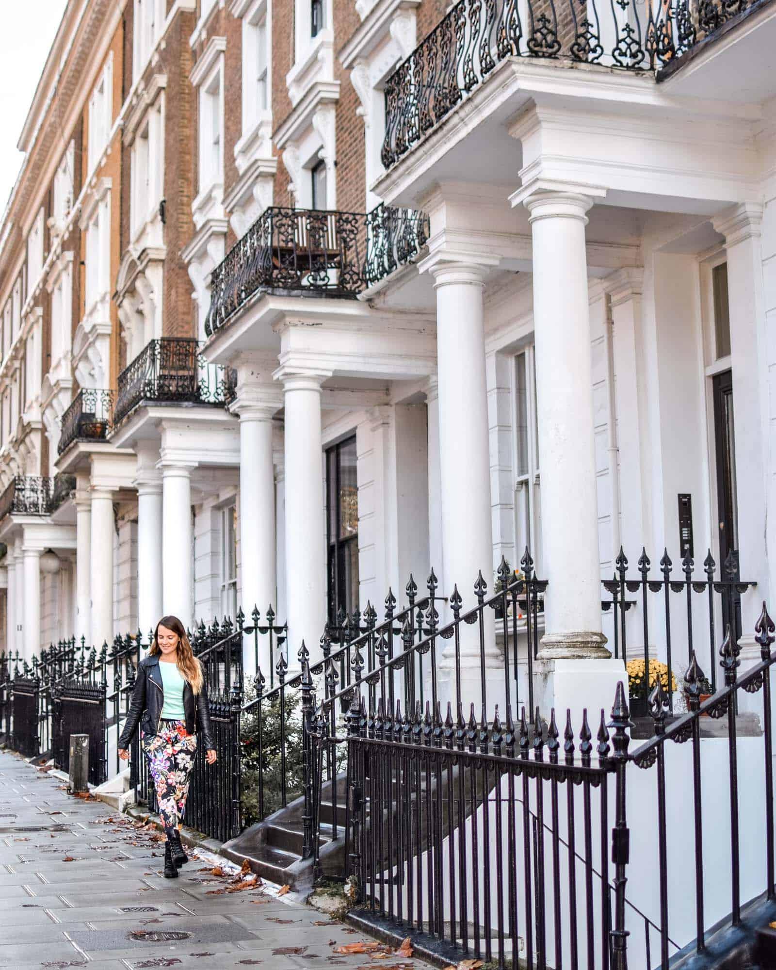 Beautiful Victorian facades Ladbroke Square London