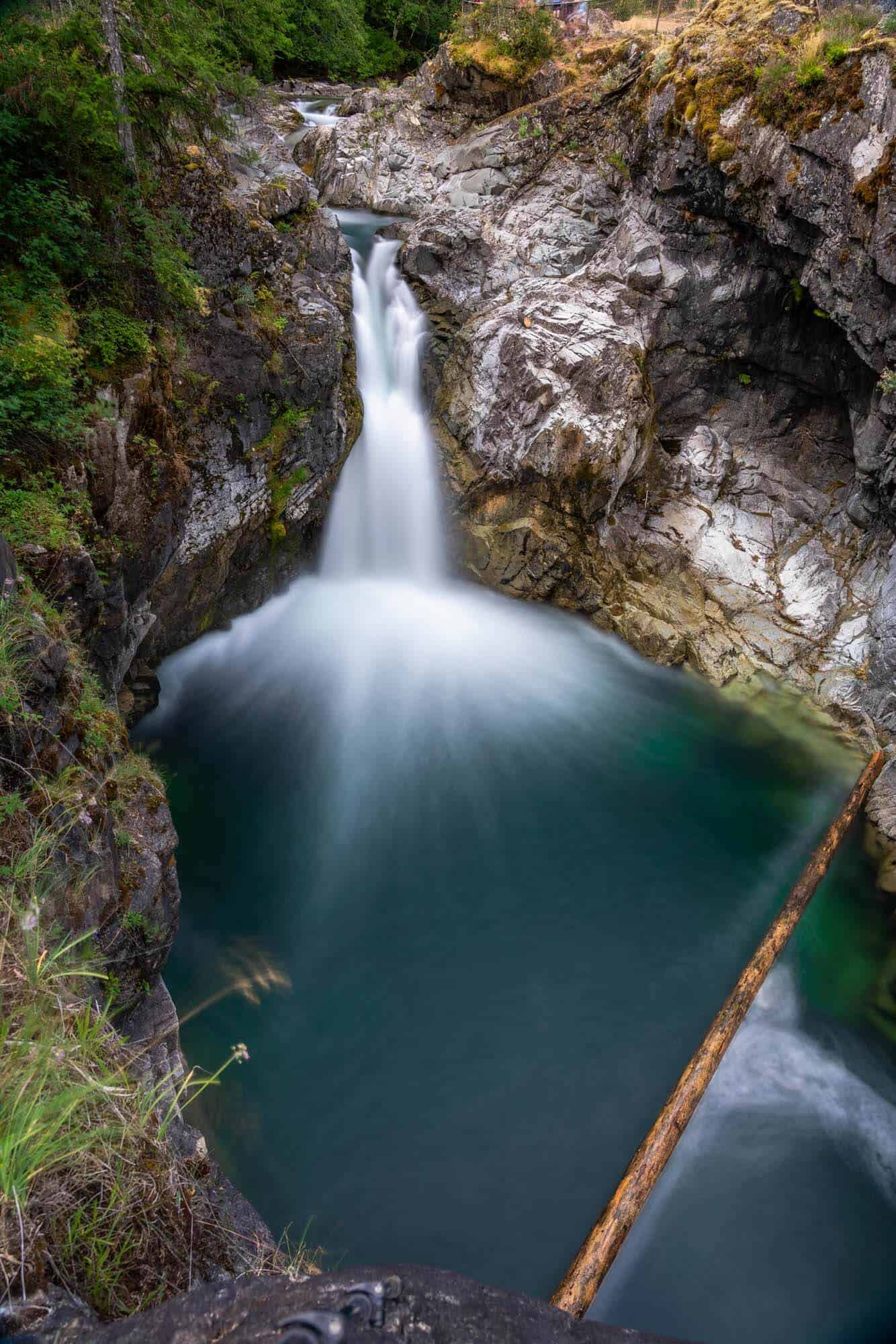 Another view of Qualicum Falls