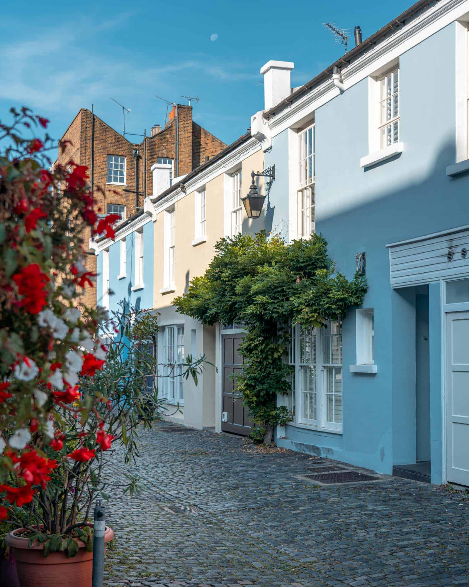 Norland Place pretty street Notting Hill London