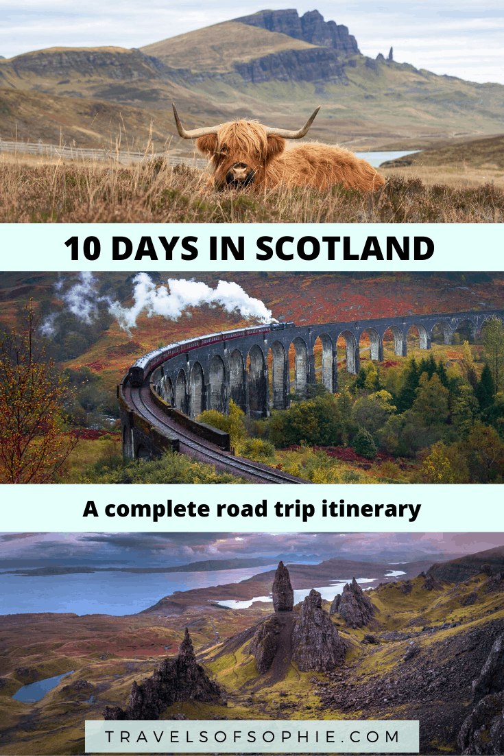 This 10 day Scotland itinerary will have you exploring incredible lochs, isles, castles, cities, and culture. Everything you need to know to help you plan your Scotland road trip, including when to visit, how to travel, and what to see in Scotland.