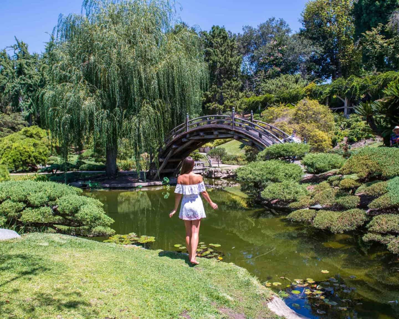 Chinese architecture at Huntington Gardens, Pasadena, Los Angeles
