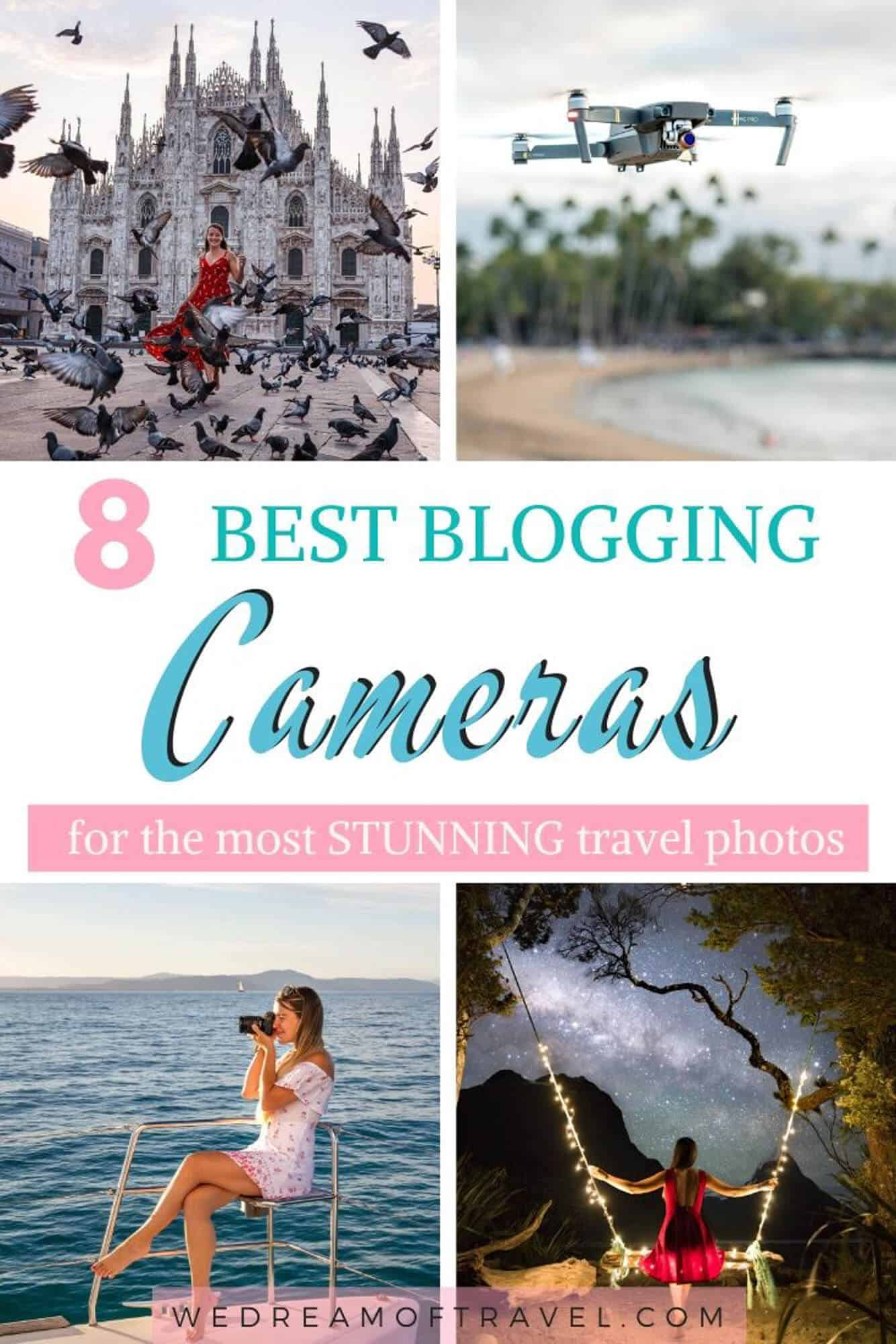 This guide will help you choose the best camera for blogging to take your photography to the next level. With cameras to suit all budgets and needs. #photography #camera #photographytips