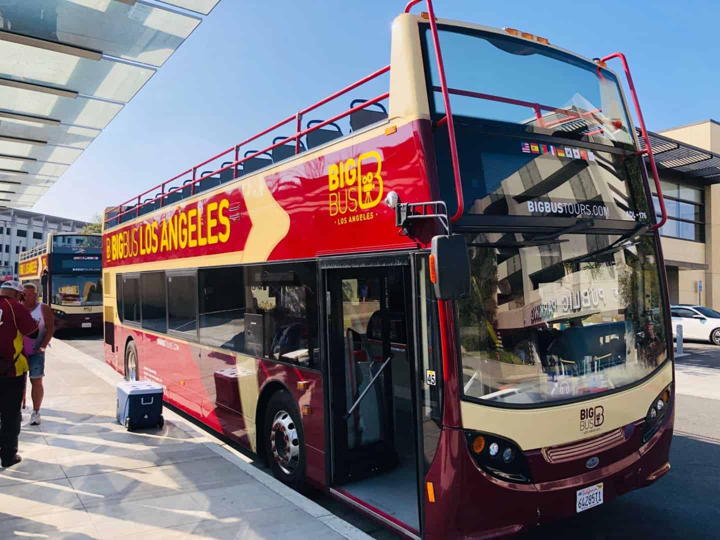 Big Bus tour - a must do for your Los Angeles bucket list!