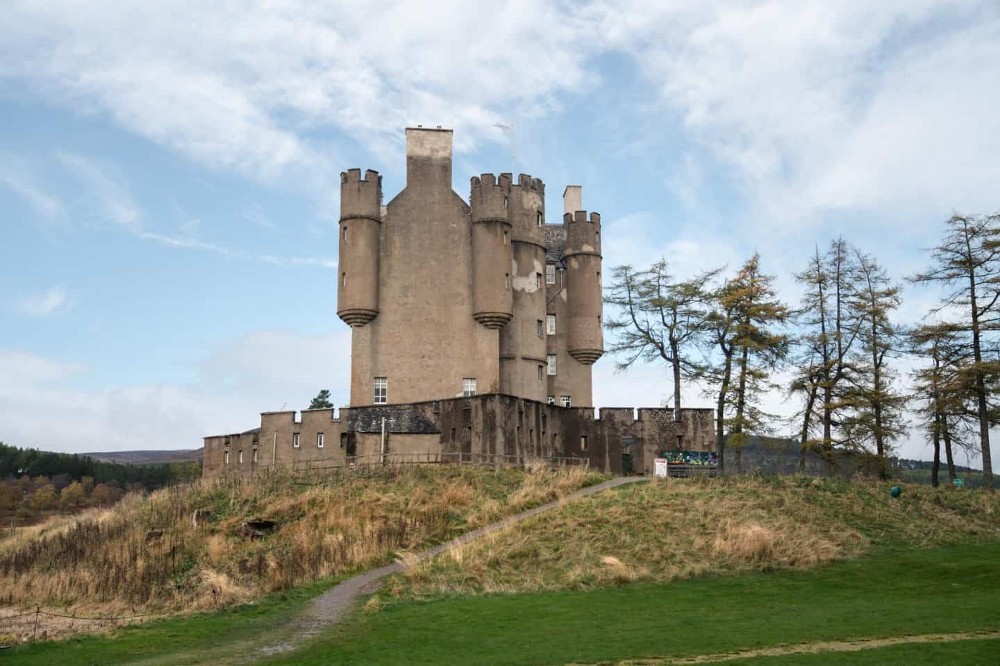 With only 10 days in Scotland, Braemar Castle can be skipped.