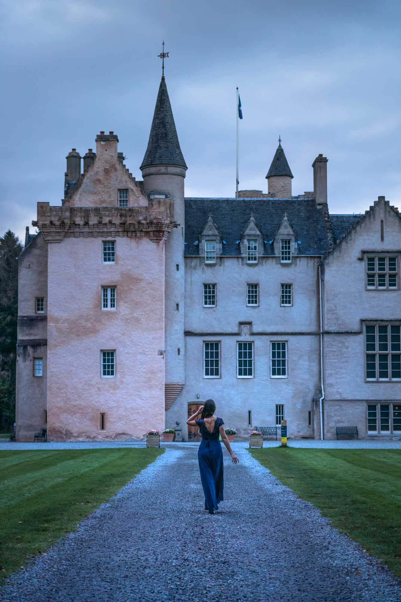 Brodie Castle will be on your 10 days in Scotland course, and has a beauty and quirkiness in its simplicity.