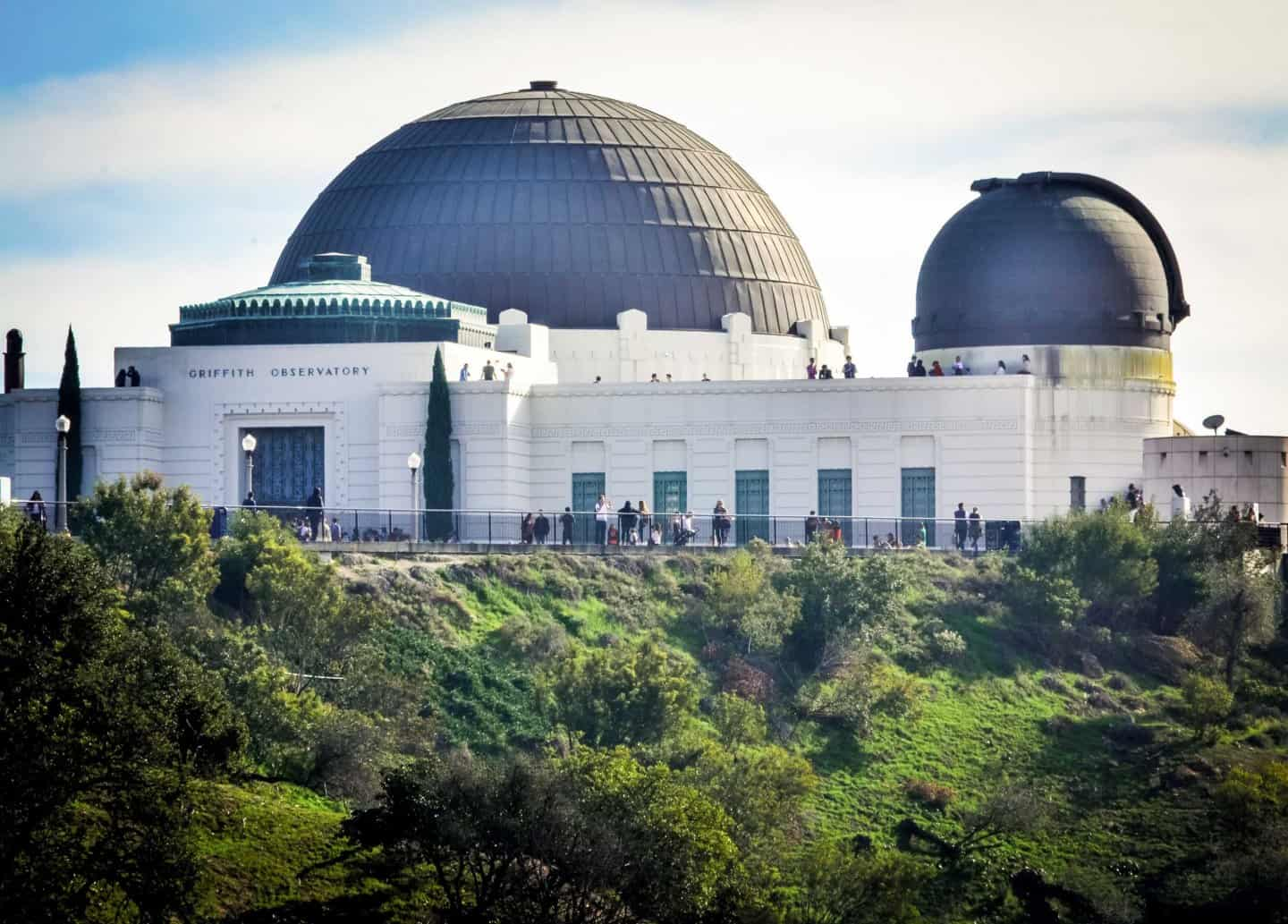 The Griffith Observatory - a must on your LA bucket list