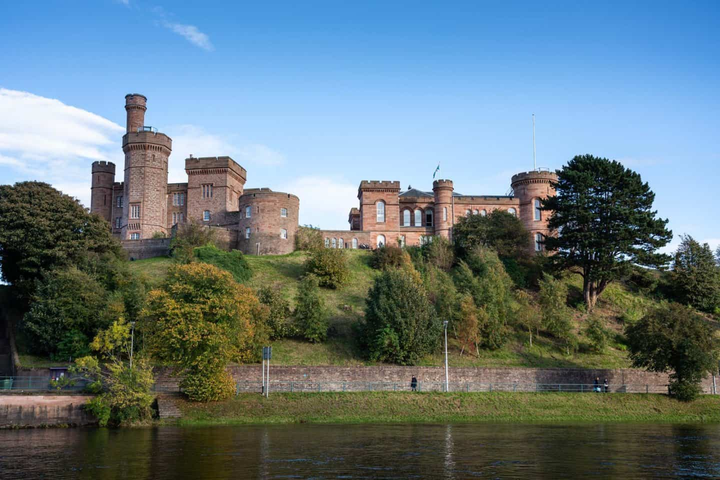 While impressive in some photos, Inverness Castle looks more like an old university than a castle.