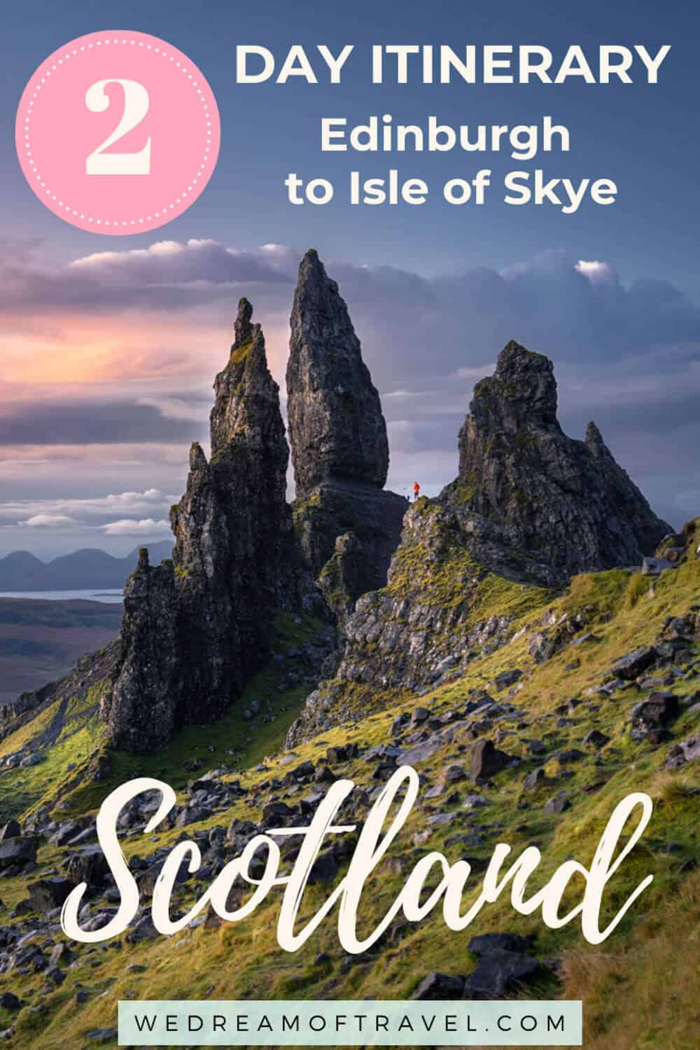 Isle of Skye 2 Day Tour from Edinburgh