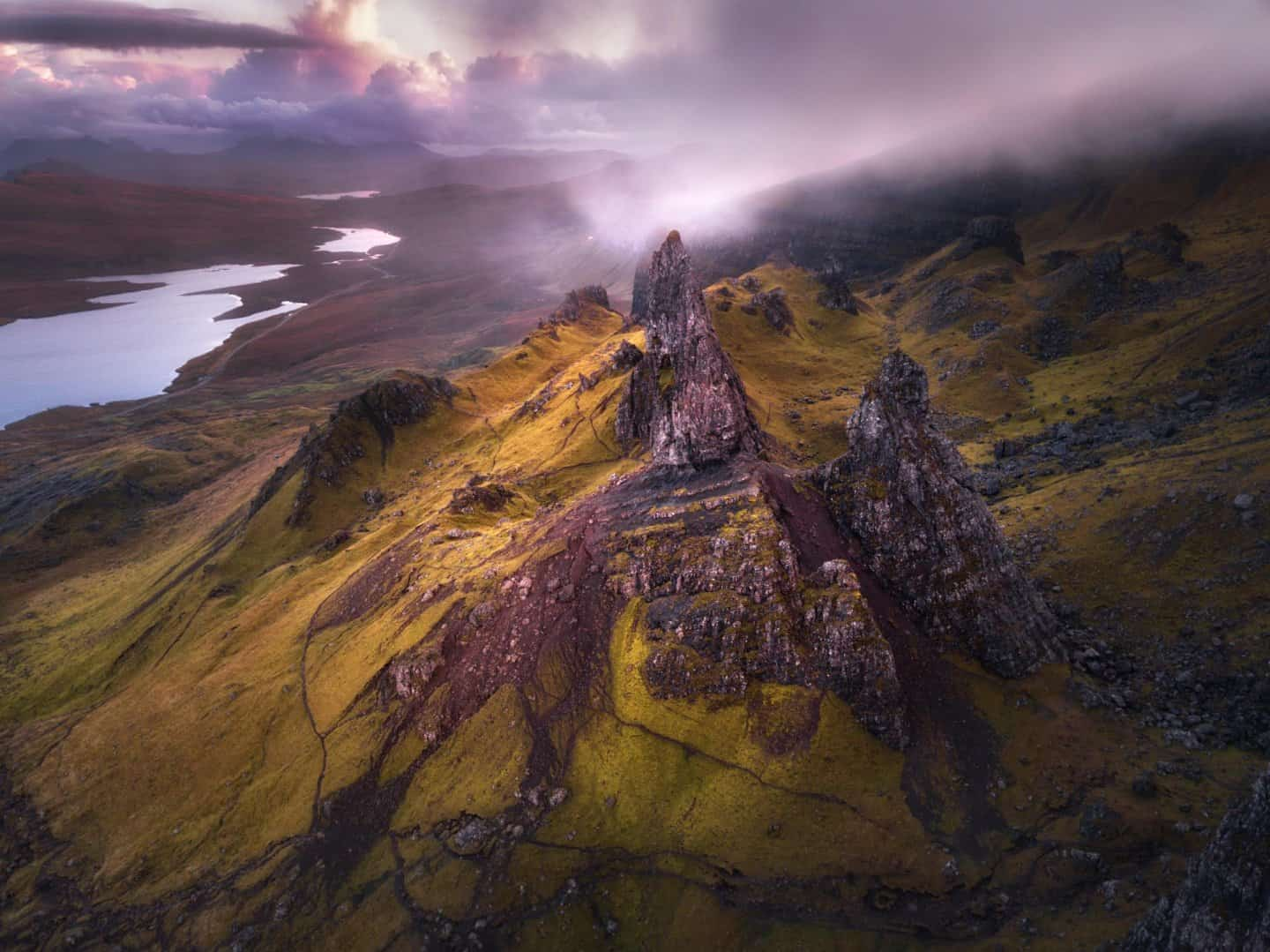 Allow 3 of 10 days in Scotland for sunrises on the Isle of Skye.