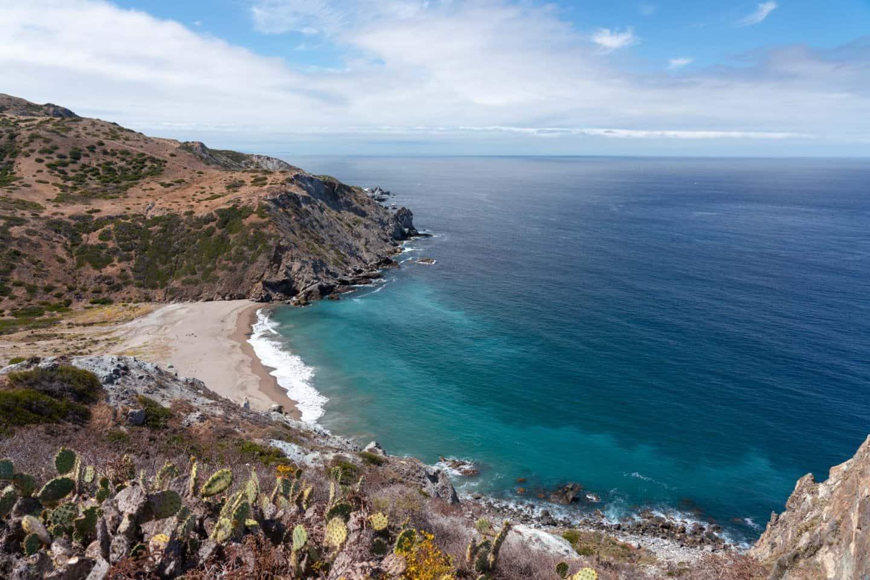 Views of the beautiful Catalina Island, Los Angeles