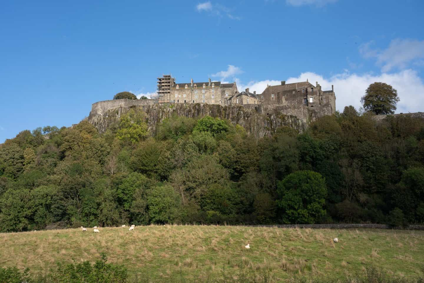 "Stirling Castle is a true ""castle on the hill."""