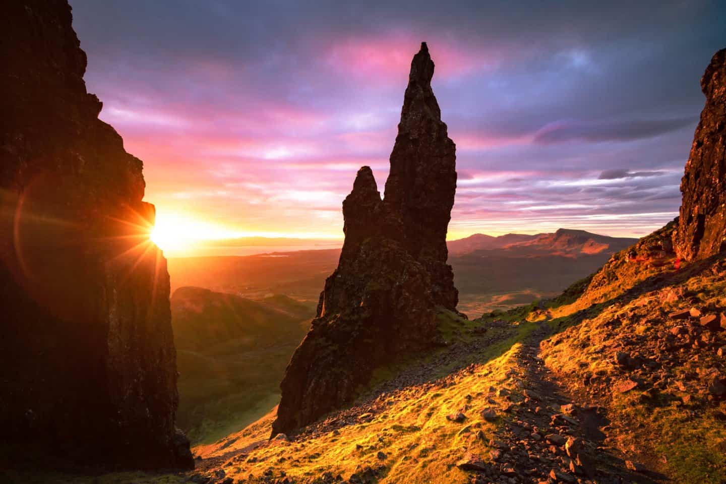 After 10 Days in Scotland, The Needle of Quiraing was the best sunrise scene of all.