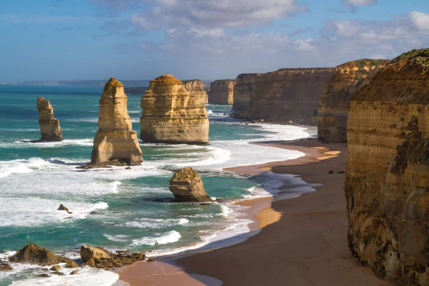 The 12 Apostles along the Great Ocean Road, Victoria, Australia