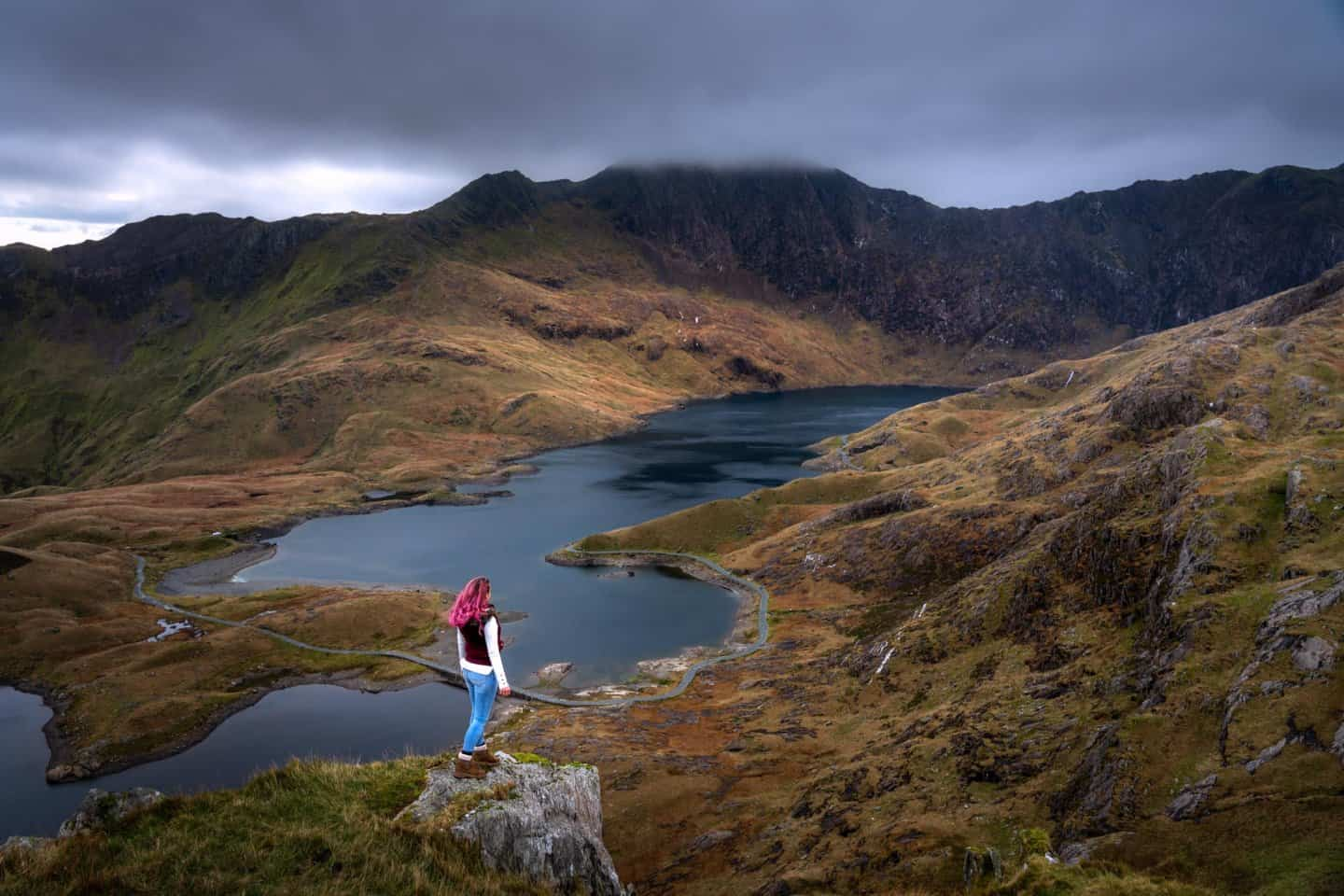 The views of Llyn Llydaw make the Pyg Track one of the best locations for Snowdonia photography.