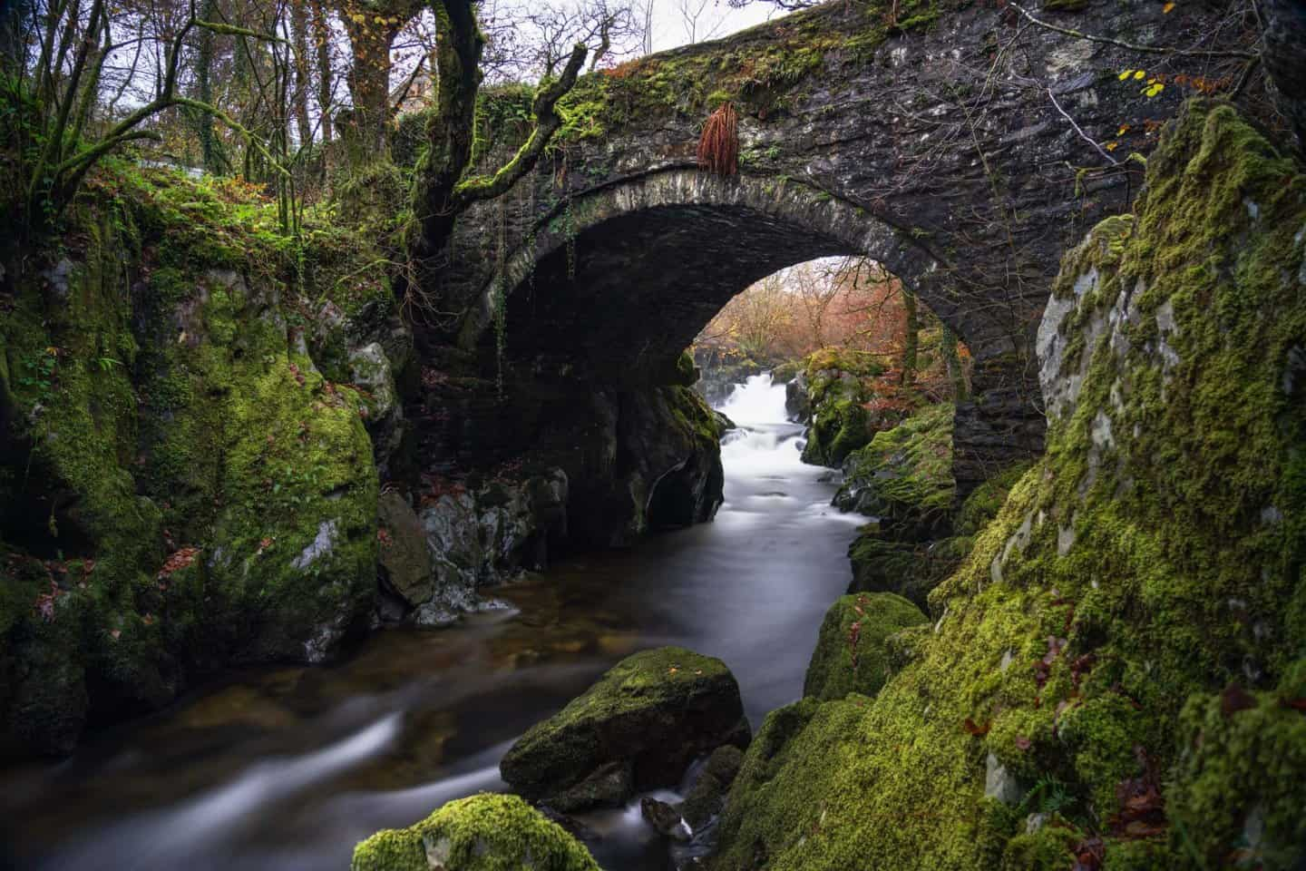 Another beautiful bridge for landscape photography  in Snowdonia National Park.