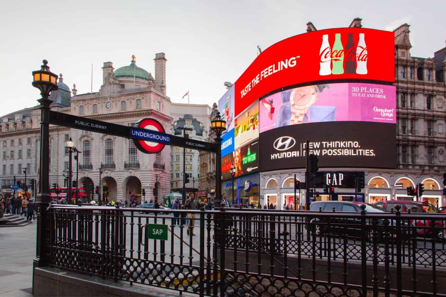 Piccadilly Circus should be on everyone's London bucket list
