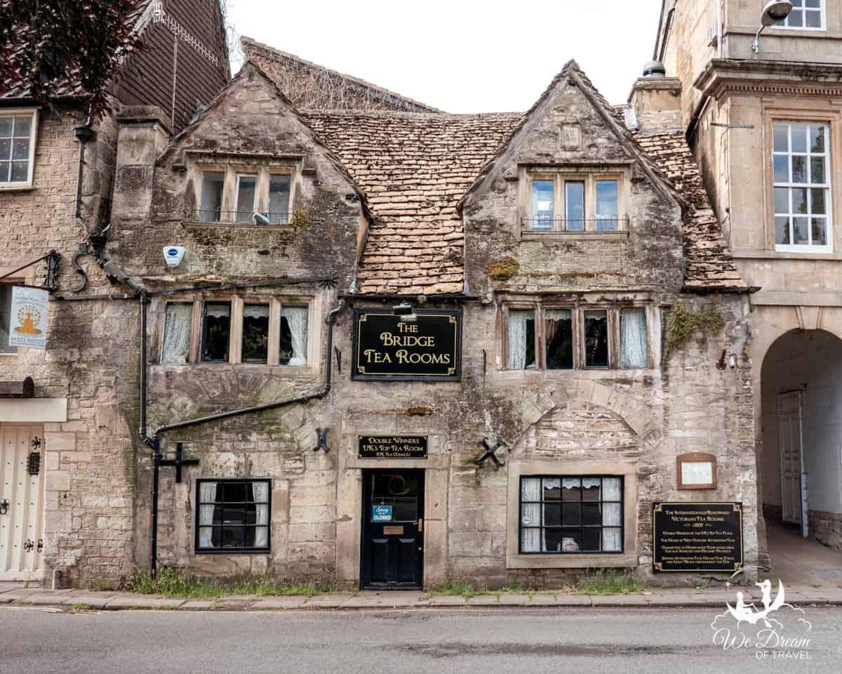 The Bridge Tea Rooms Bradford on Avon Village Cotswolds