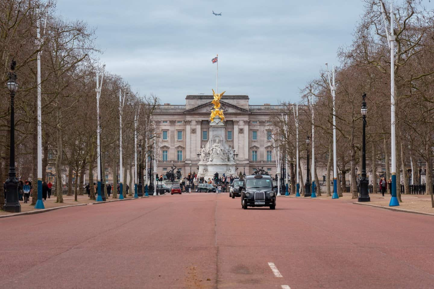 The Mall street in London resembles a giant red carpet and shouldn't be missed on your London bucket list.