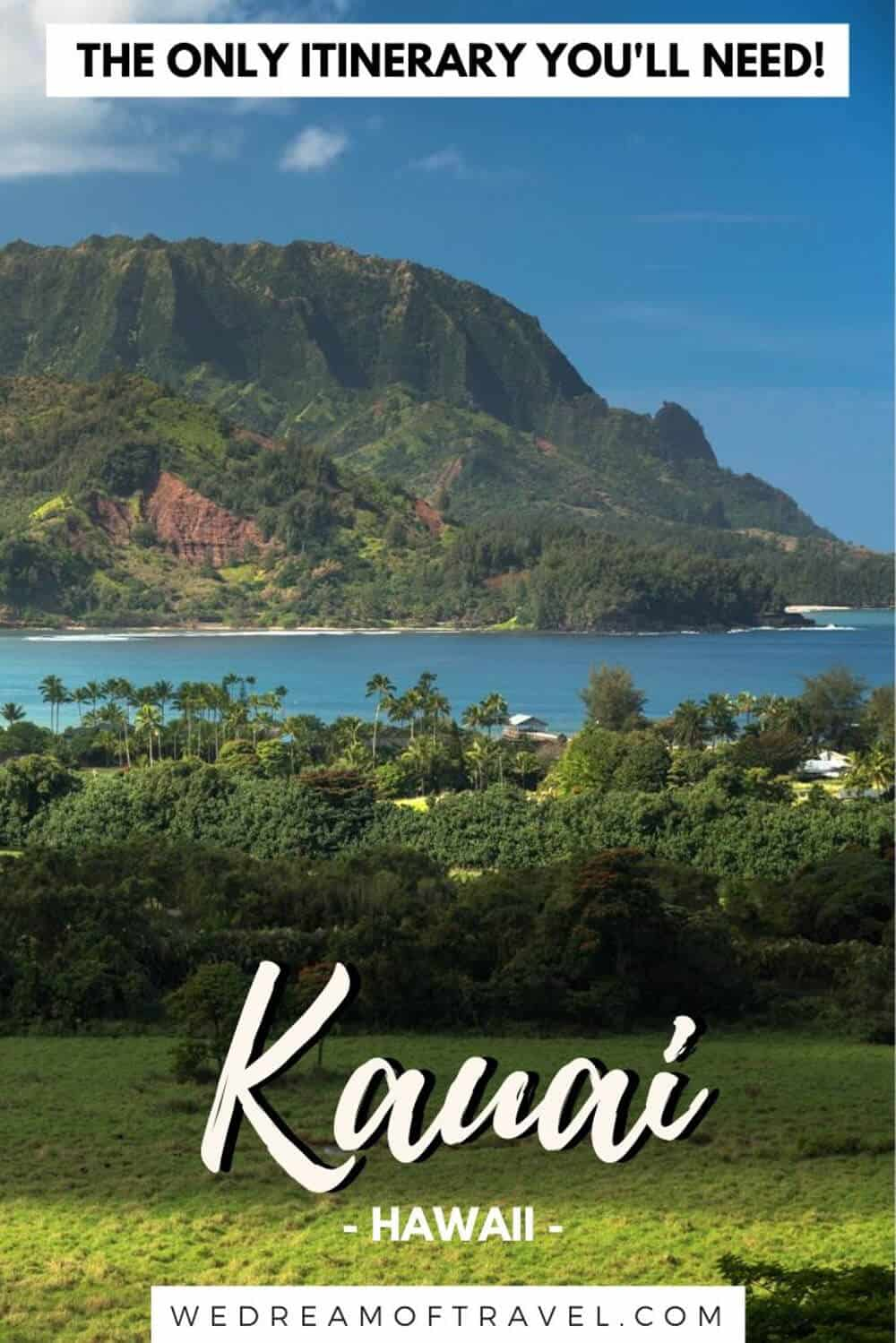 Looking for the best things to do in Kauai to build your ultimate Kauai itinerary?  Look no further.  This 7 day itinerary for Kauai has everything you need to plan your perfect Hawaiian vacation, including where to stay, what to see, things to do and an interactive map of all the best places in Kauai. #kauai #hawaii #kauaihawaii