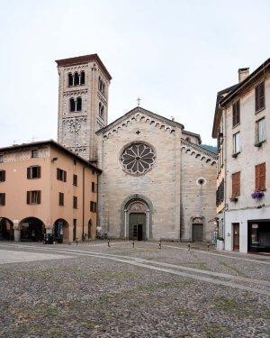Basilica di San Fedele, Lake Como Italy