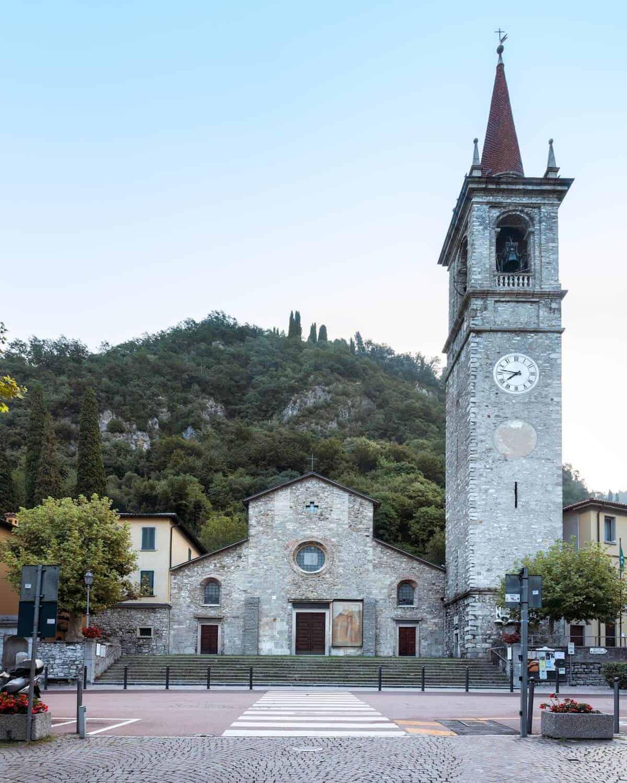 Church of San Giorgio, Varenna, Lake Como, Italy
