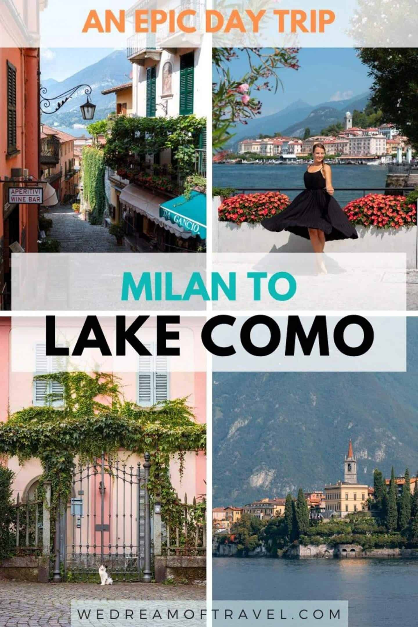 Looking to discover how to spend one day in Lake Como, Italy?  It is easy to explore Lake Como in 24 hours.  Plan the perfect day trip from Milan to Lake Como and find all the best things to do in Lake Como and most picturesque villages in one of the most beautiful regions in Italy.  Day Trip to Lake Como | Weekend in Lake Como | Lake Como Italy | Milan Day Trips | 1 Day in Lake Como | Beautiful Places in Italy