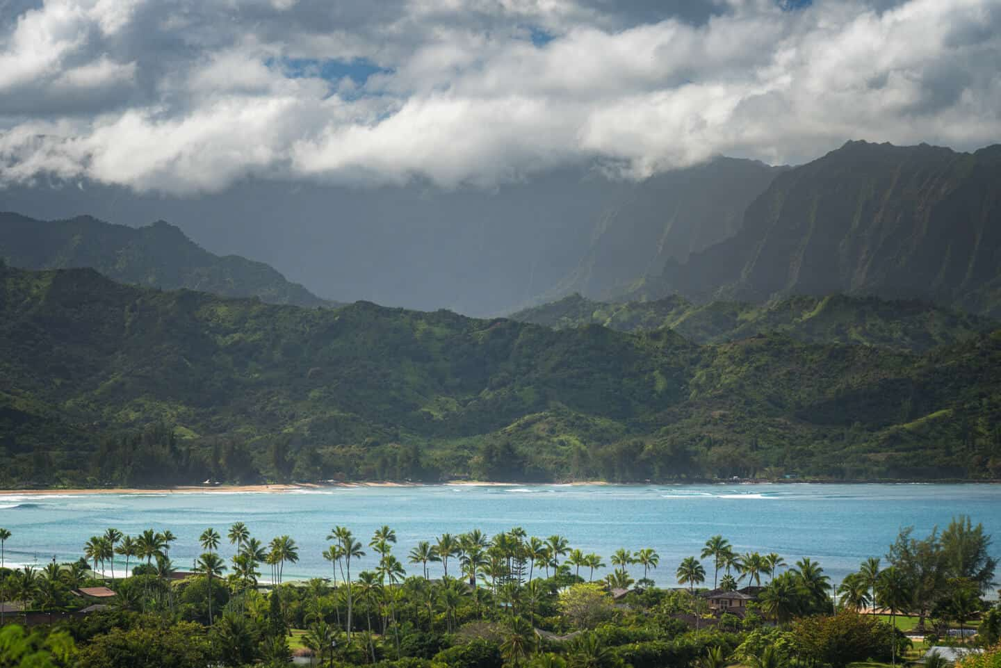 The Hanalei Valley is a popular place to stay on most Kauai itineraries.