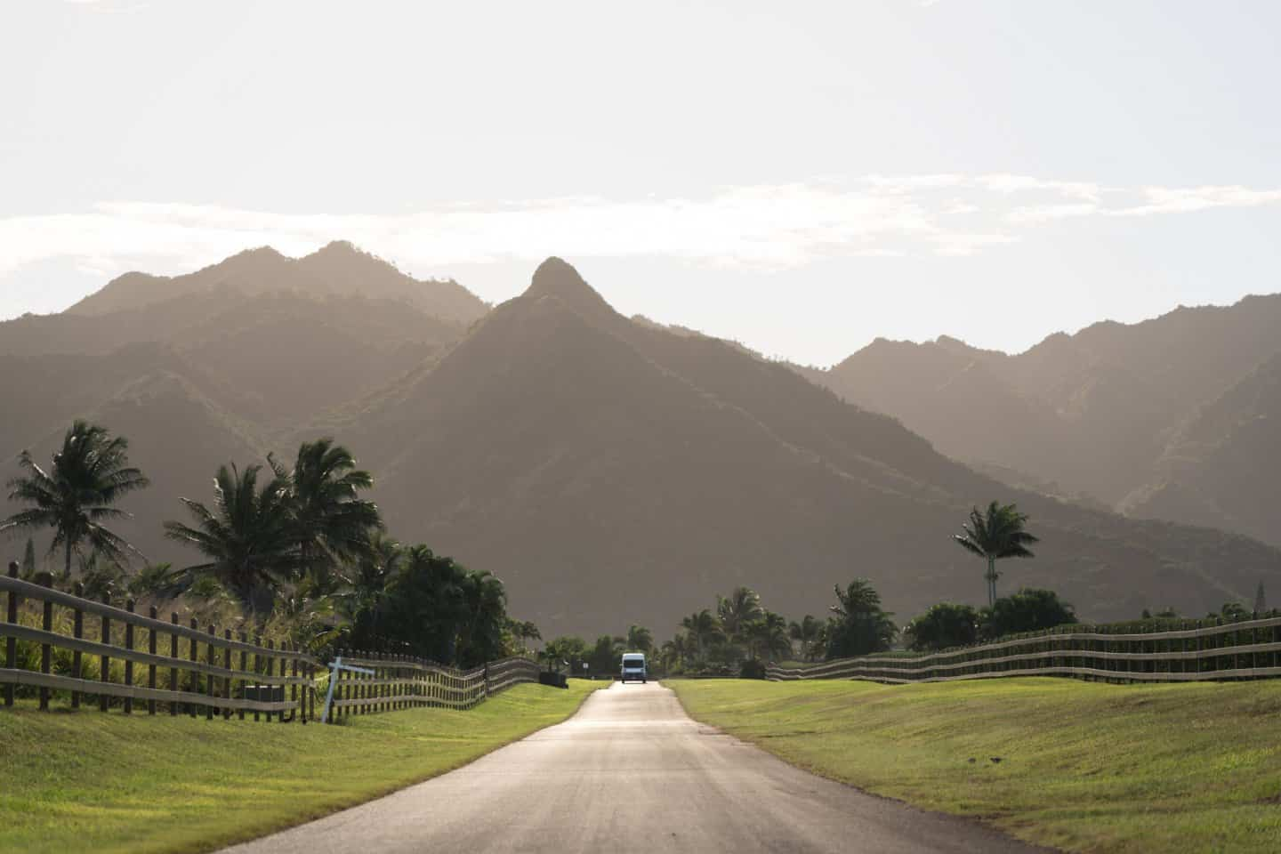 Even the Kalalea View Road enroute to Papaa Bay Beach is a Kauai photography location!