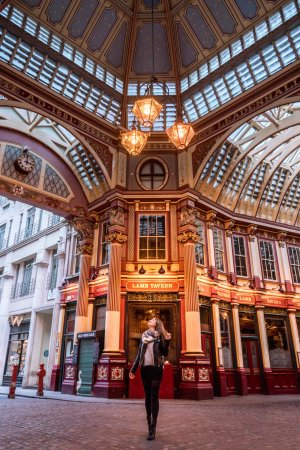 Leadenhall Market is one of the most instagrammable places in London