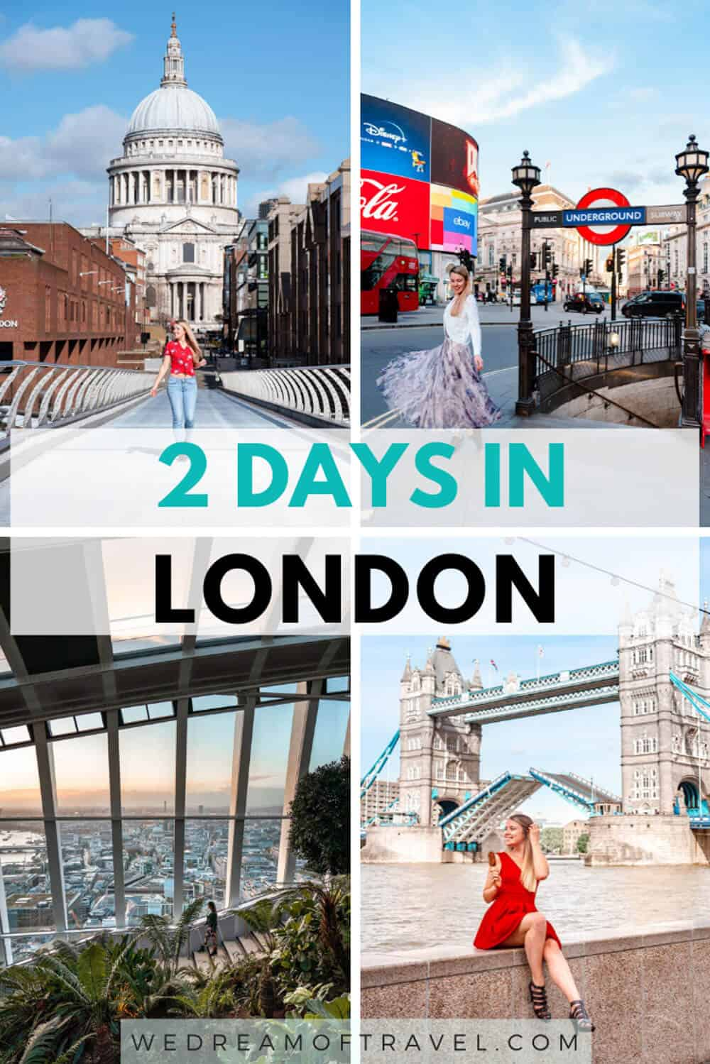 Looking to discover what to see and things to do in London in 2 days?  This guide from a Londoner will help you plan your perfect 2 day itinerary.