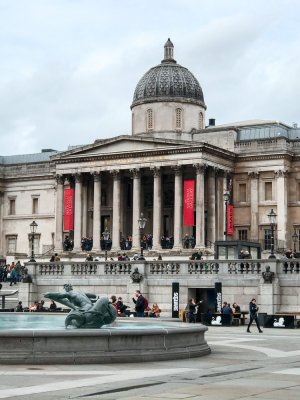Trafalgar Square and the National Gallery - top things to do in London in 2 days