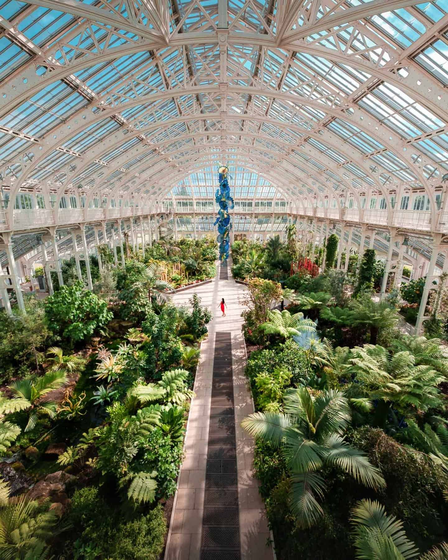 Temperate House at Kew Gardens London - one of the most instagrammable places in London
