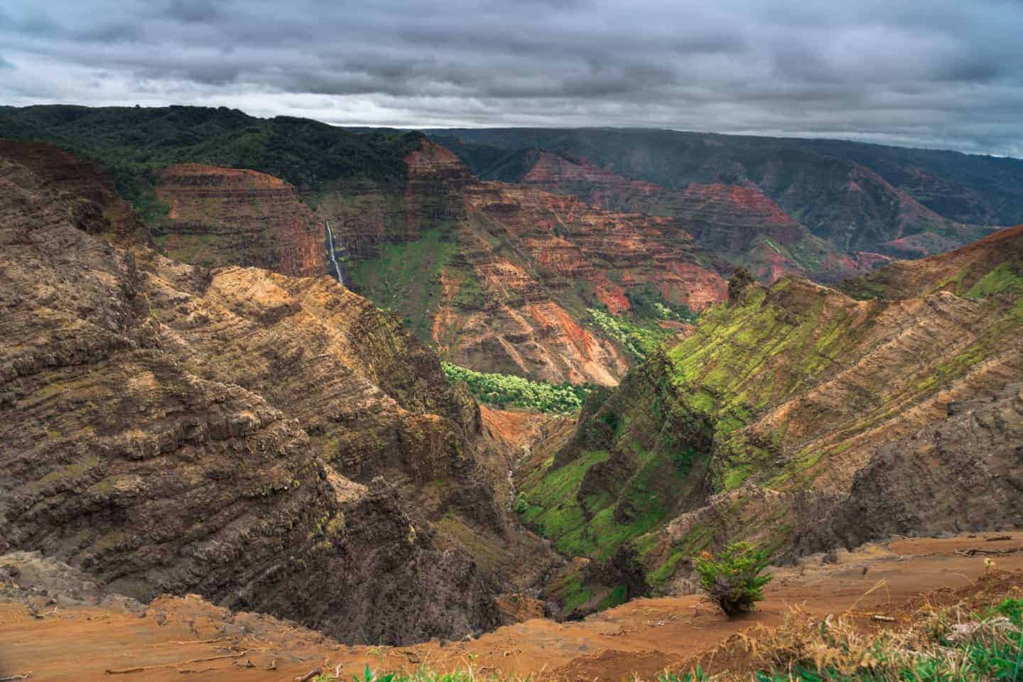 Waimea Canyon State Park is one of the places that is more beautiful in person than a camera can ever capture.