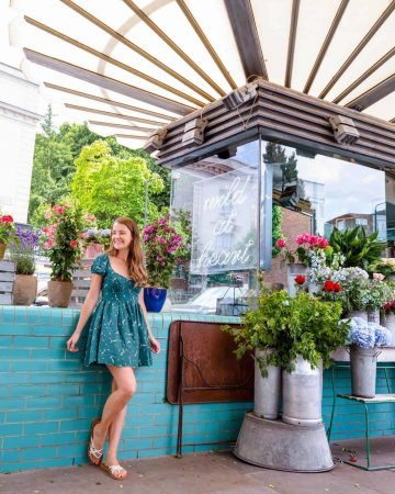 Wild at Heart florist in Notting Hill provides perfect Instagrammable backdrop
