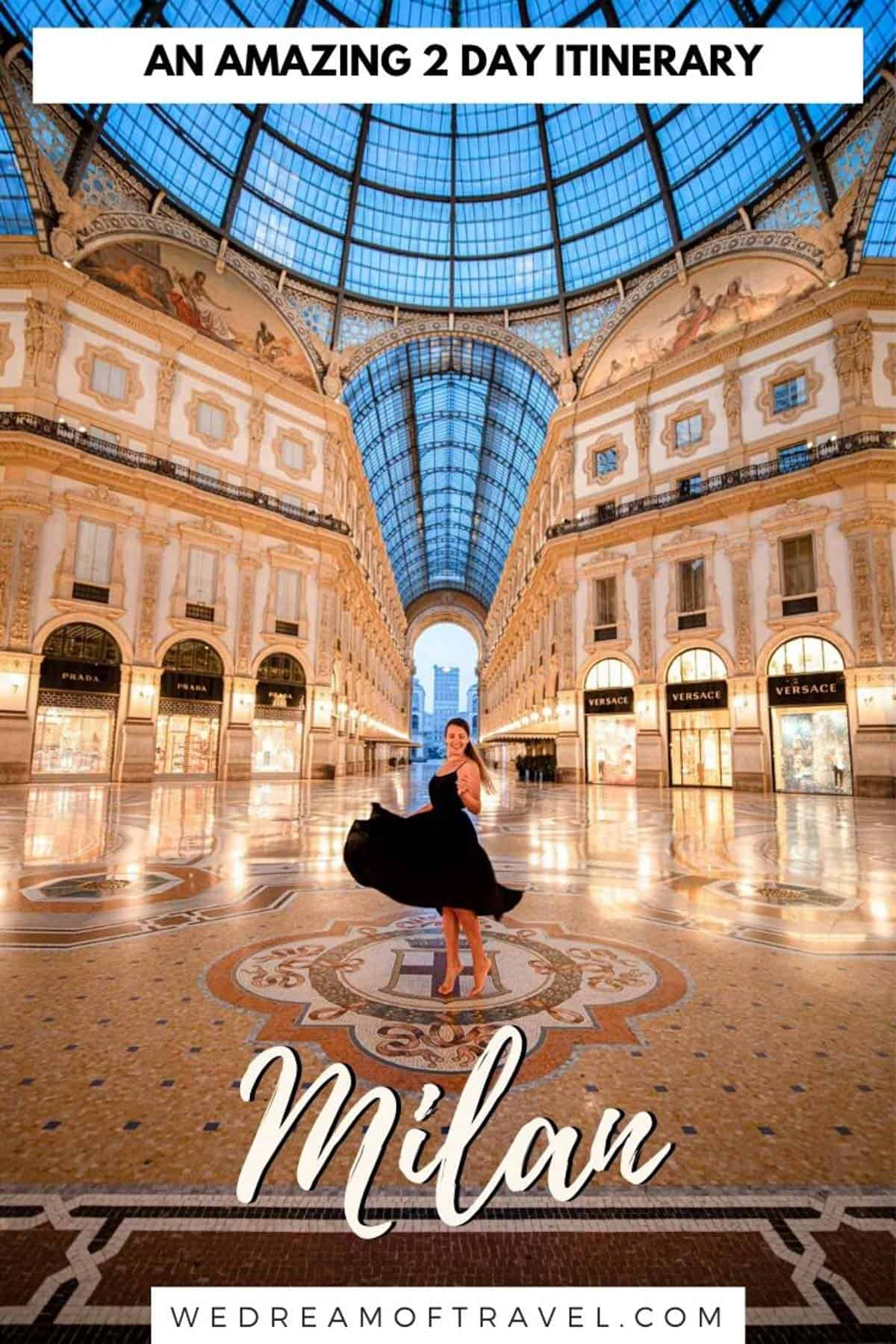 Spending 2 days in Milan? This ultimate two day Milan itinerary has all the best things to do and see in Milan to help you maximise your time. If you're lucky enough to have more time in Milan or even if you have only one day in Milan, this itinerary can be adapted to create your perfect Milan getaway. #milan #italy